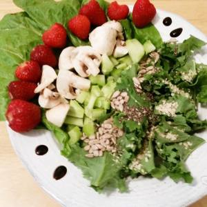 salade aux friases