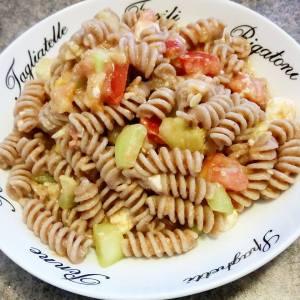 Fusillis aux tomates et zucchinis